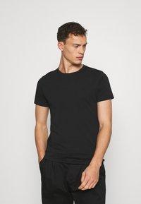LTB - 2 PACK  - Basic T-shirt - black - 2