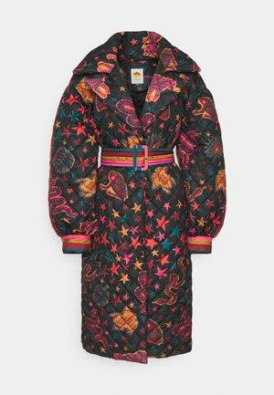 ANIMAL SKY PUFFER JACKET - Classic coat - black
