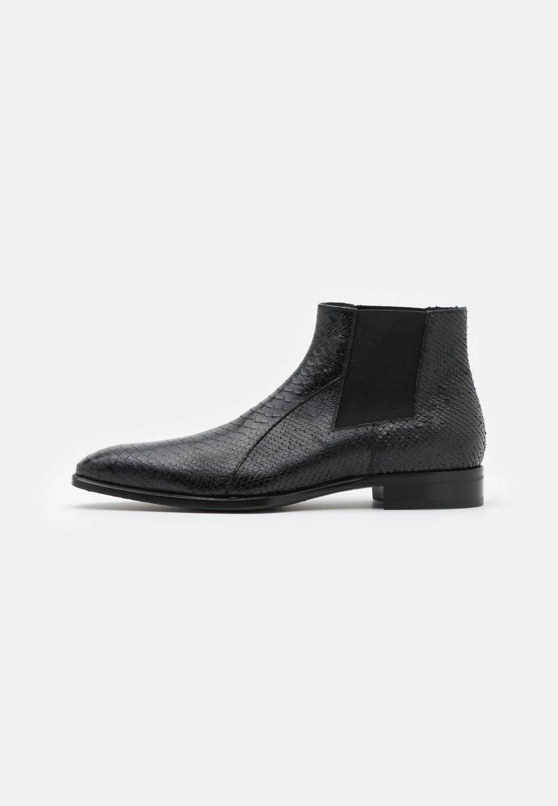 Jo Ghost - Kotníkové boty - pitone nero