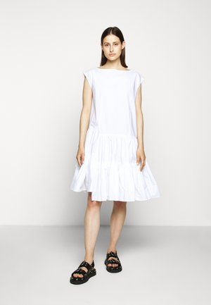 POPLIN DRESS - Day dress - white