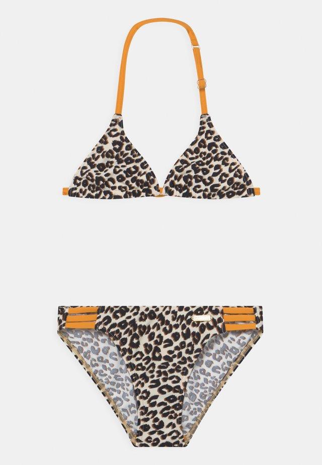 TRIANGEL SET - Bikini - brown