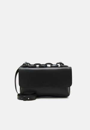 BORSA DONNA WOMANS BAG - Across body bag - black