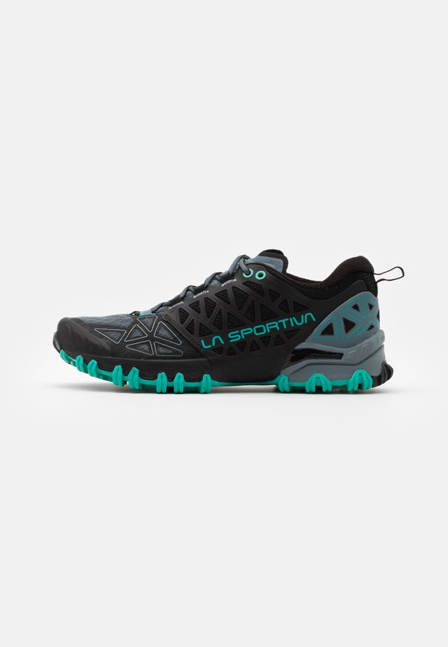 BUSHIDO II WOMAN - Zapatillas de trail running - slate/aqua