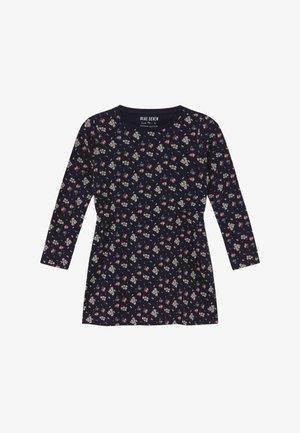 KIDS FLORAL PRINT - Jerseyklänning - nachtblau