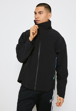 MYSHELTER RAIN.RDY - Summer jacket - black/rainbow reflective