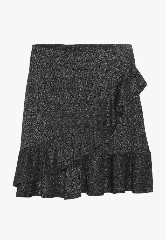 GODA  - A-snit nederdel/ A-formede nederdele - silver/black