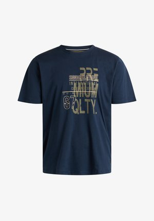 GAVIN ORGANIC + - T-shirt print - duke blue