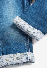 Next - GREY FRILL POCKET PULL-ON JEANS (3MTHS-7YRS) - Straight leg jeans - blue - 3