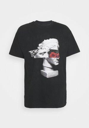ROMAN - T-shirt print - black