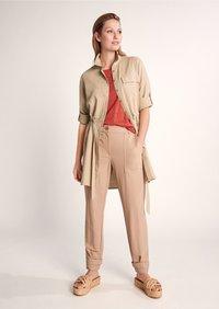 comma casual identity - Button-down blouse - sand - 4
