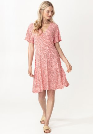 ROSEMARY - Day dress - red