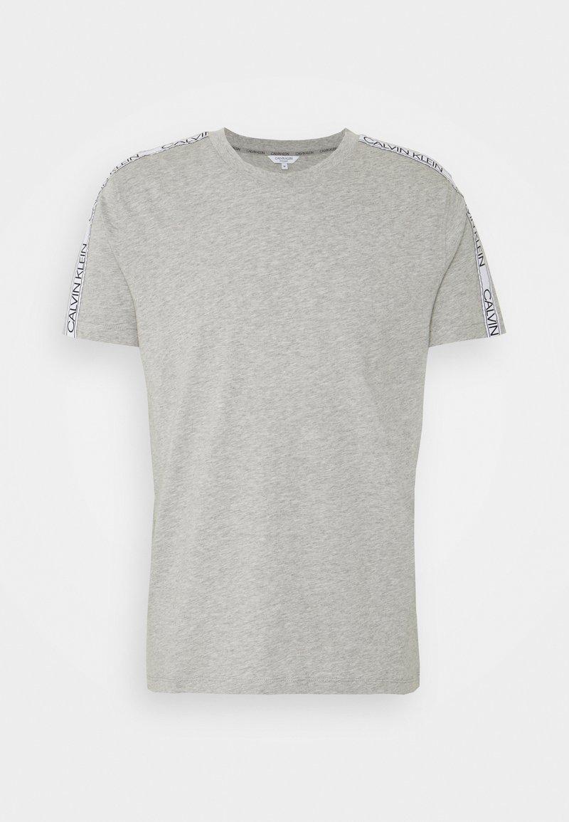 Calvin Klein Swimwear - CORE LOGO RELAXED CREW TEE - Pyjama top - grey