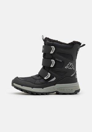 VIPOS TEX UNISEX - Snowboot/Winterstiefel - black/silver