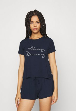 LUCY SHORT SET  - Pyjama set - dark blue