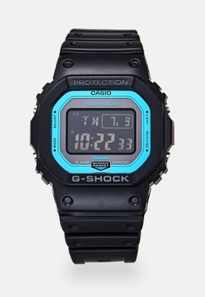Digital watch - black/blue