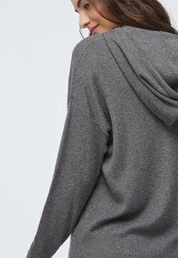 OYSHO - Hoodie - dark grey - 4