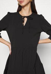 Noisy May - NMLIVE 3/4 SHORT DRESS - Denní šaty - black - 5