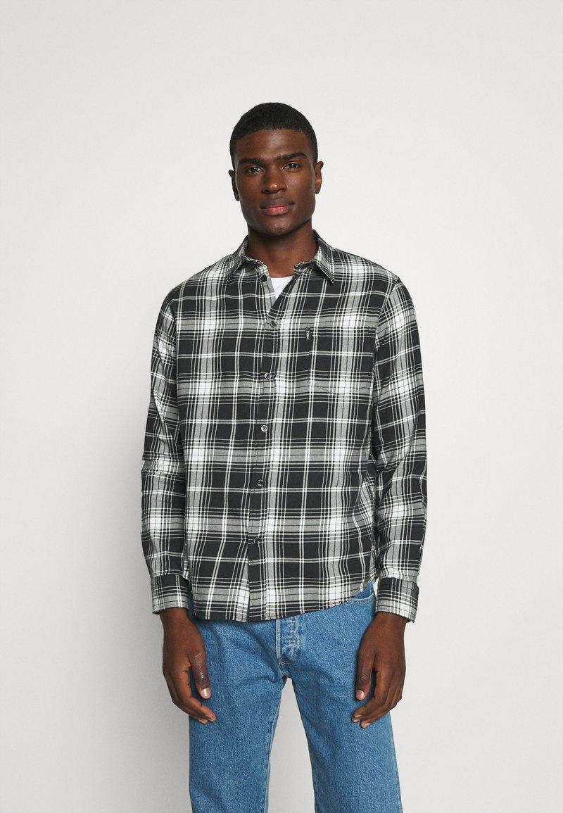 Zign - UNISEX - Skjorta - black/white