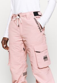 Superdry - FREESTYLE PANT - Snow pants - soft pink - 5