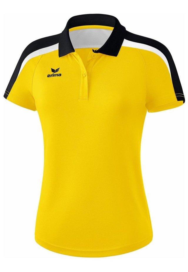 LIGA 2.0 POLOSHIRT DAMEN - Polo shirt - gelb / schwarz