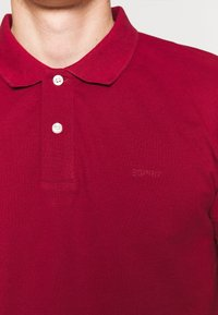 Esprit - Koszulka polo - bordeaux red - 5