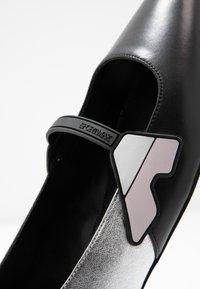 Sportmax - FASE - Ankle strap ballet pumps - nero - 2