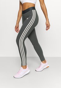 adidas Performance - Pantaloni sportivi - grey/pink - 0