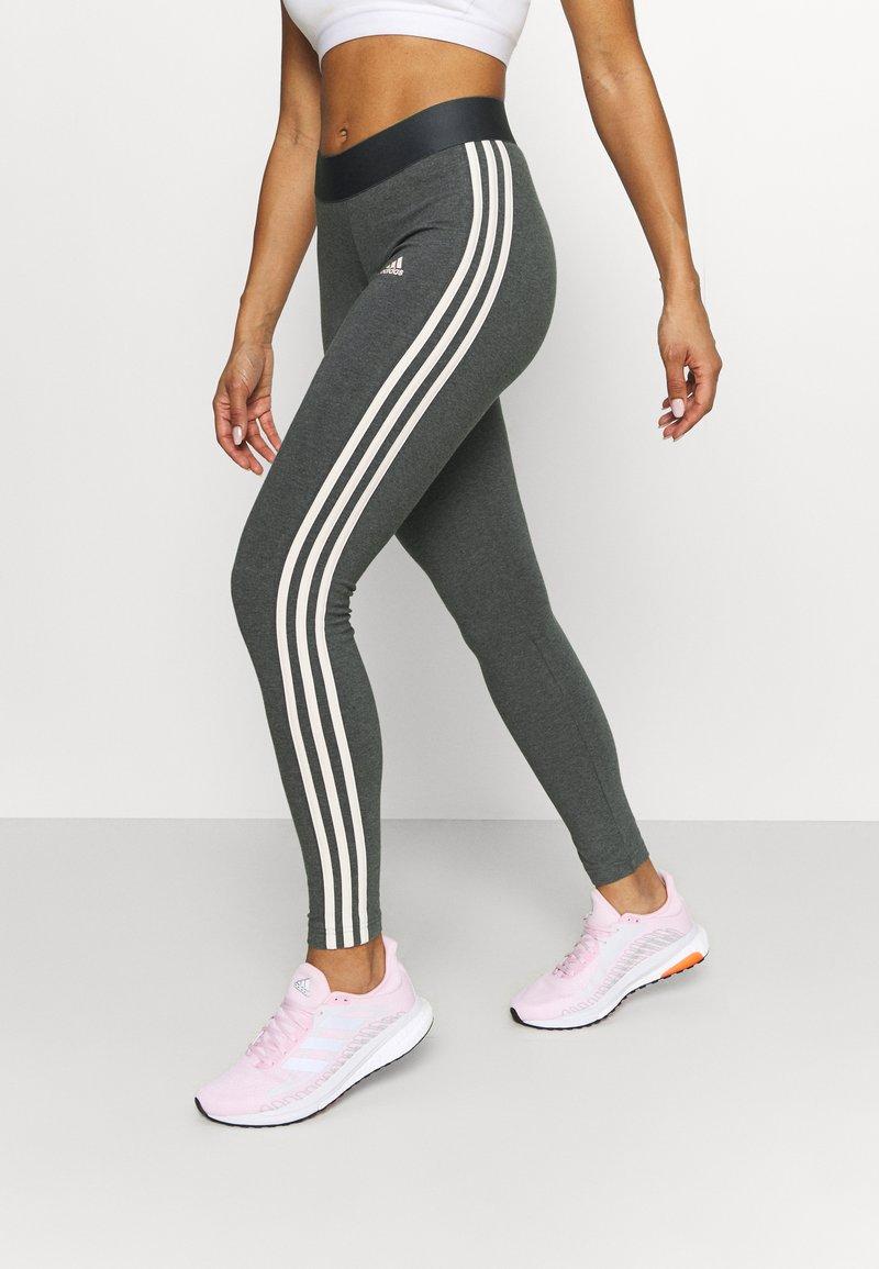 adidas Performance - Pantaloni sportivi - grey/pink