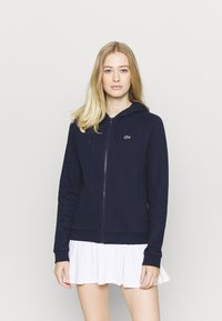 Lacoste Sport - Zip-up hoodie - navy blue - 0