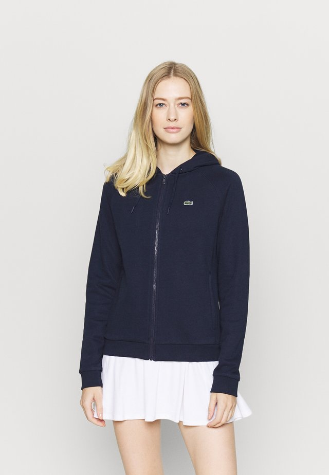 veste en sweat zippée - navy blue