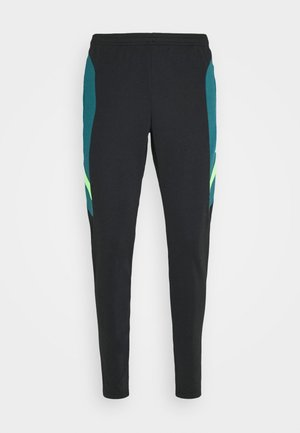 DRY ACADEMY PANT  - Tracksuit bottoms - black/dark teal green/green strike
