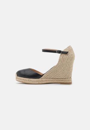 KANSAS - Platform heels - schwarz