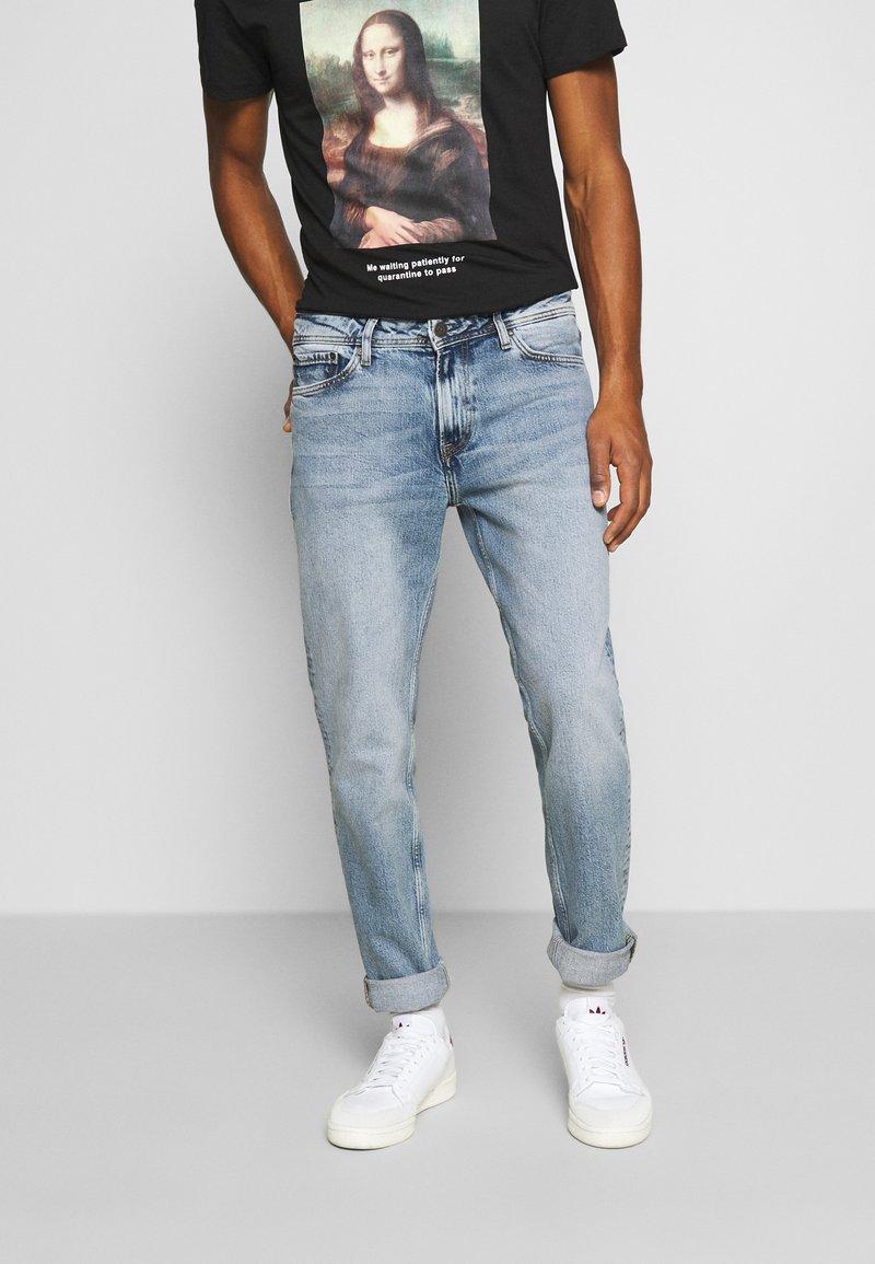 Jack & Jones - JJICLARK JJORIGINAL - Jeans straight leg - blue denim