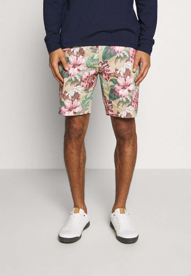 ATHLETIC SHORT - Korte sportsbukser - wild hibiscus