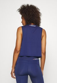 Tommy Sport - PERFORMANCE TANK  - Sports shirt - blue - 2