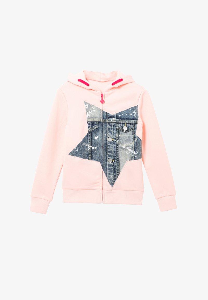 Desigual - SELENE - Zip-up hoodie - red