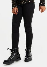 WE Fashion - Jeggings - black - 1