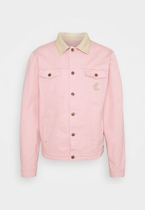 TRUCKER JACKET UNISEX  - Spijkerjas - rose