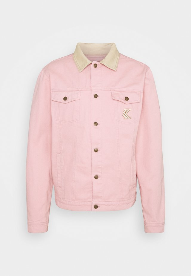 TRUCKER JACKET UNISEX  - Giacca di jeans - rose