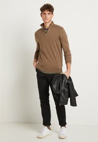 Selected Homme - SLHSLIM-MILES - Chino - black - 2