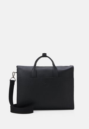 LEATHER - Laptop bag - black