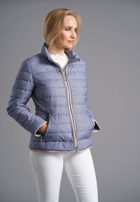 Junge - DEMI - Light jacket - deep blue print - 0