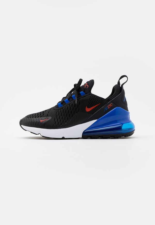 AIR MAX 270 UNISEX - Trainers - black/chile red/hyper royal/white