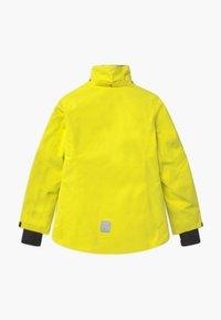 Reima - WINTER FROST UNISEX - Laskettelutakki - lemon yellow - 2