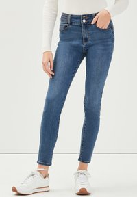 Cache Cache - MIT NIETENDETAILS - Jeans Skinny Fit - stone blue denim - 3