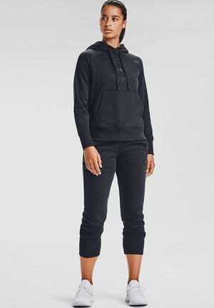 RIVAL FLEECE METALLIC - Hoodie - black