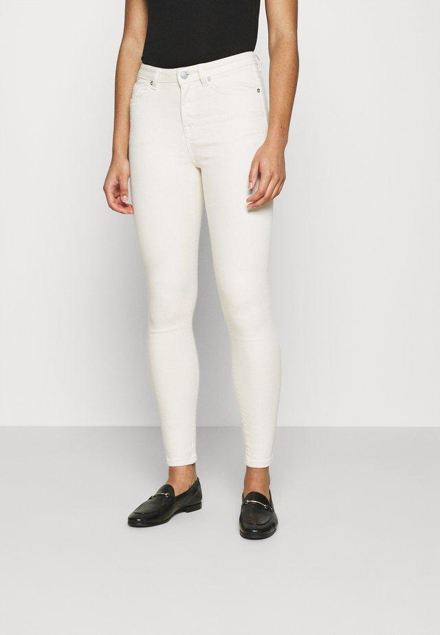 SLFSOPHIA STAR - Jeans Skinny Fit - creme