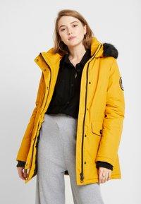Superdry - ASHLEY EVEREST - Winter coat - amber ochre - 0
