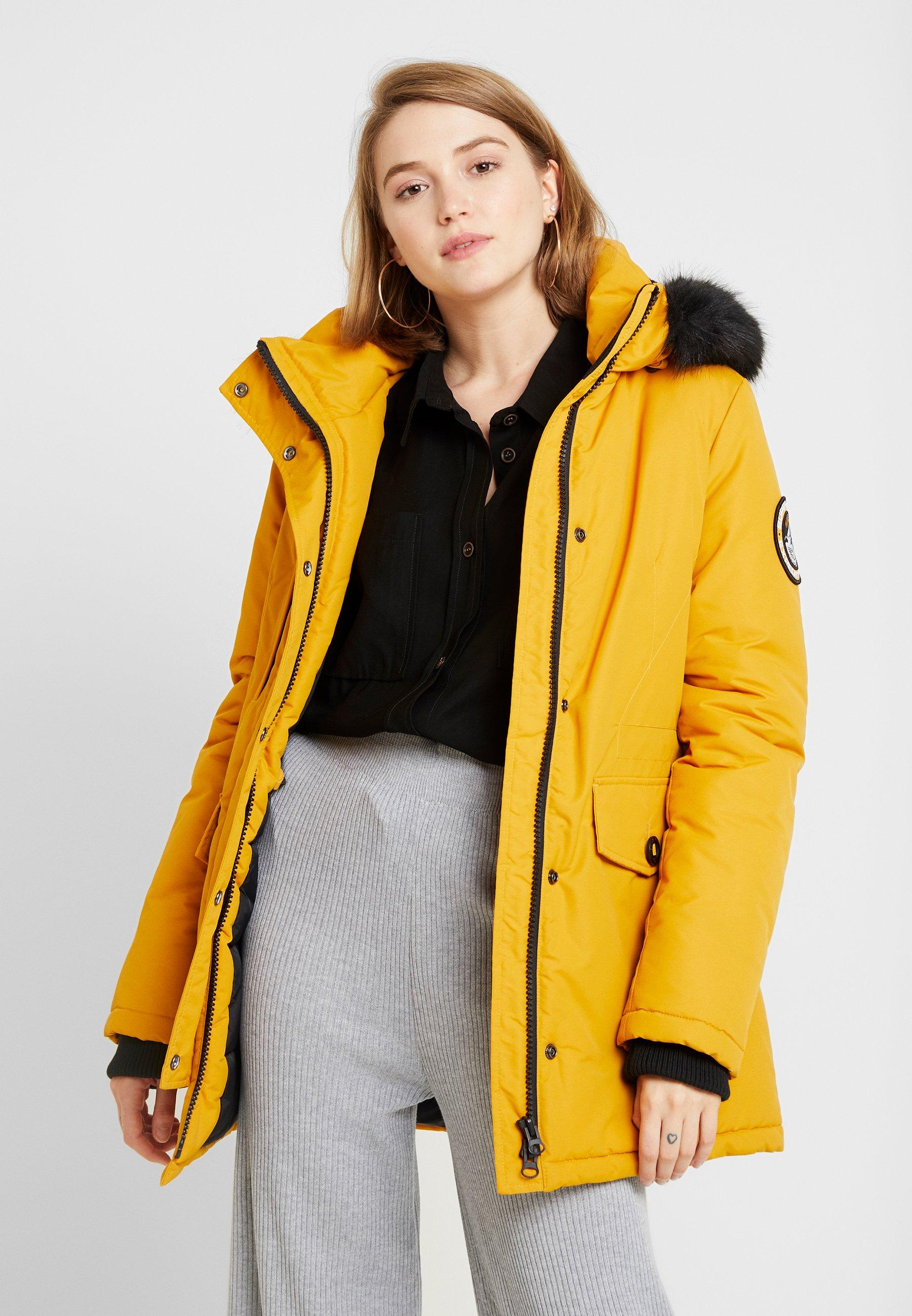 ASHLEY EVEREST   Wintermantel   amber ochre