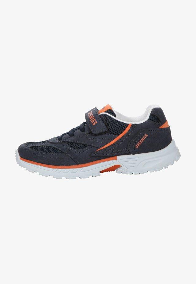 Trainers - navy/orange